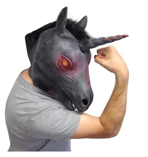 Evil Unicorn Mask