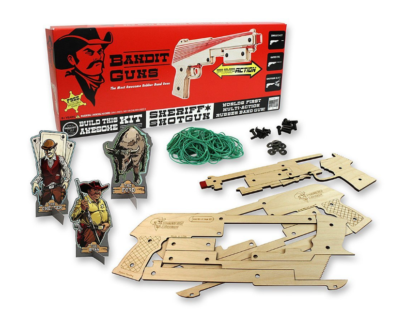 Rubberband Gun set